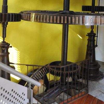 Le mécanisme du moulin