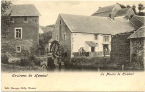 Le moulin de Hosdent - carte postale