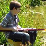 Stage pêche au Village du Saule